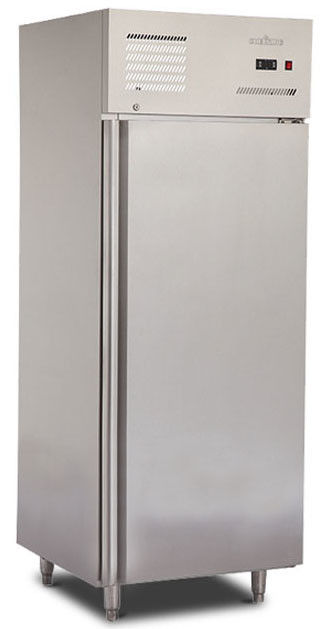 1/2 Door Stainless Steel Commercial Kitchen Refrigerator 500L Capacity Free Standing Installation