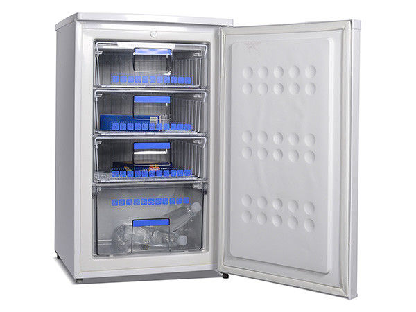 84L Upright Compact Freezer,Small Upright Freezer,Vertical Small Chiller For Freezed Food,Meat,Ice Cream