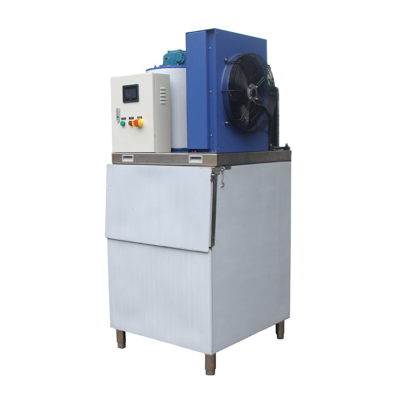 Low Power Automatic Commercial Flake Ice Maker Machine For Hotels , Bars 500kg/24h